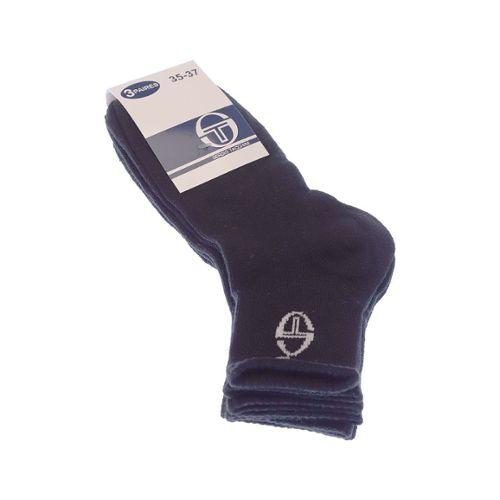 43-46 ST1 Sergio Tacchini Lot de 6 Paires de Chaussettes Sport pour Homme//Femme en Noir