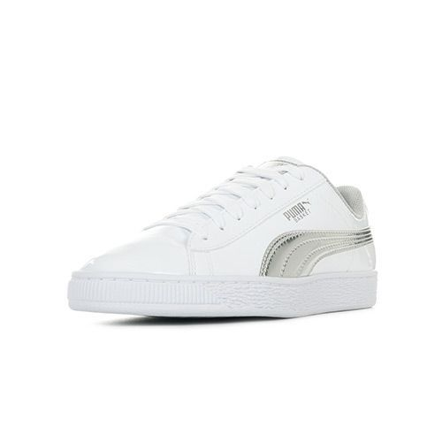 Chaussure puma fille blanc baskets pas cher ou d'occasion