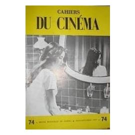 Cahiers Du Cinema N 74 Leonide Keigel Vincente Minnelli Ingmar Bergman La Generation De La Television Sacha Guitry Rakuten