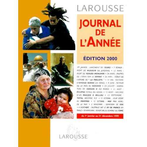 Journal De L Annee Edition 2000