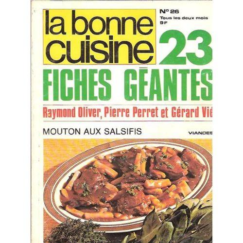 Black Friday La Bonne Cuisine N 26 23 Fiches Geantes Raymond