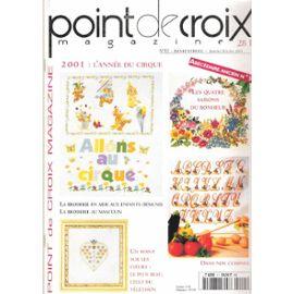 Point De Croix Magazine N 11 Abecedaire Ancien Rakuten