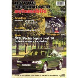 VECTRA essence depuis 96 revue tech RTA 614