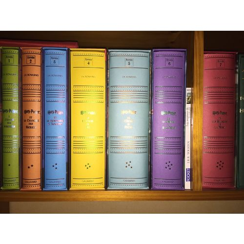 Harry Potter Edtion De Luxe Gallimard Collection Complete