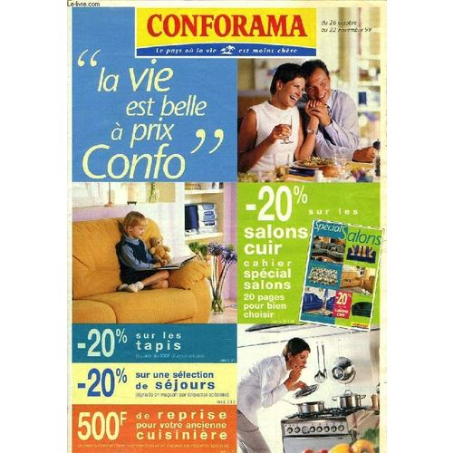 Conforama, Catalogue, Oct.-Nov. 1999