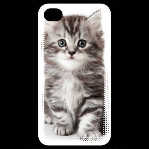 coque iphone 4 grise