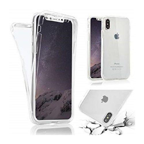 coque iphone xr transparente 360 aimante