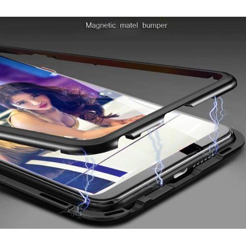 so cheap online here order Coque Métal Absorption Magnétique 360 pour Huawei P20 P20 ...