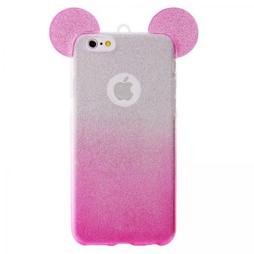 coque iphone 6 rose paillette