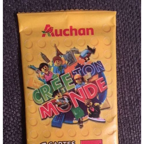 Pochette Cree Ton Monde Lego Auchan