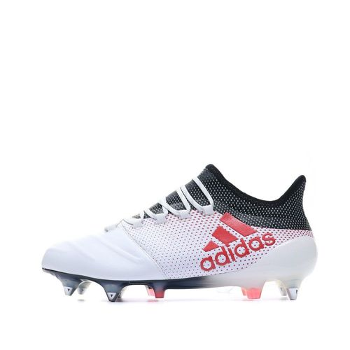 X 17.1 SG Cuir Chaussures Football Blanc Homme Adidas | Rakuten