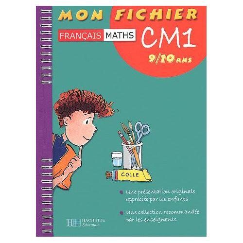 Mon Fichier Francais Maths Cm1 9 10 Ans