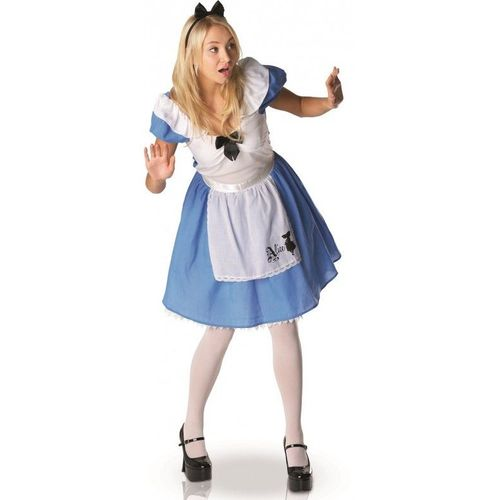 Déguisement Femme ALICE au pays des merveilles Bleu XL 44 Costume Adulte NEUF