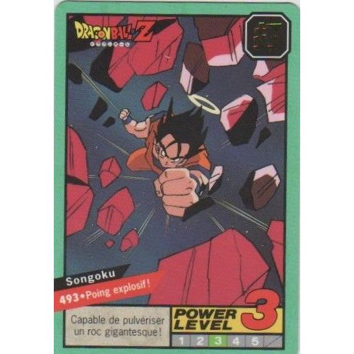 Dragon Ball Z Mini Card Amada 341 Part 6