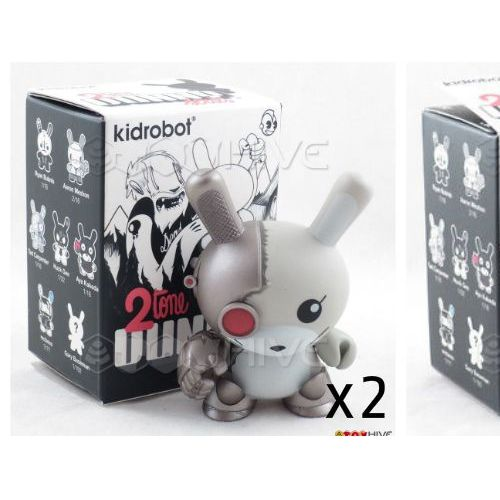 "DUNNY 3/"" 2 Tone série Ryan bubnis 1//16 Mono KIDROBOT Toy Figure de Collection Neuf"