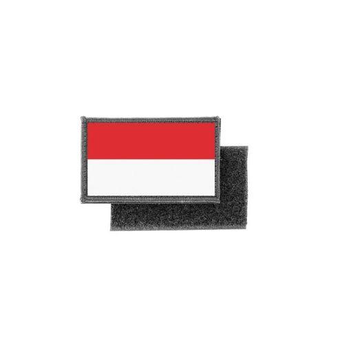 Patch ecusson brode imprime souvenir backpack drapeau indonesie indonesien