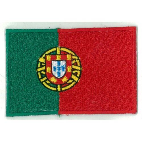 Patch ecusson brode imprime voyage souvenir drapeau portugal portugais