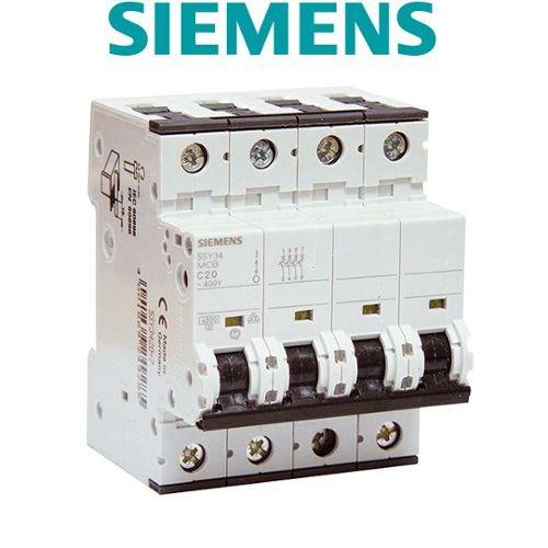 neutre 16A Lot de 5 Disjoncteurs /électriques phase SIEMENS