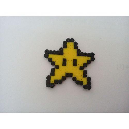 Pixel Art Etoile Mario Rakuten