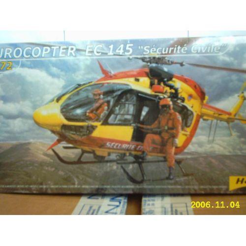 Heller 1:72 Ensemble Cadeau-Eurocopter Ec145 Sécurité