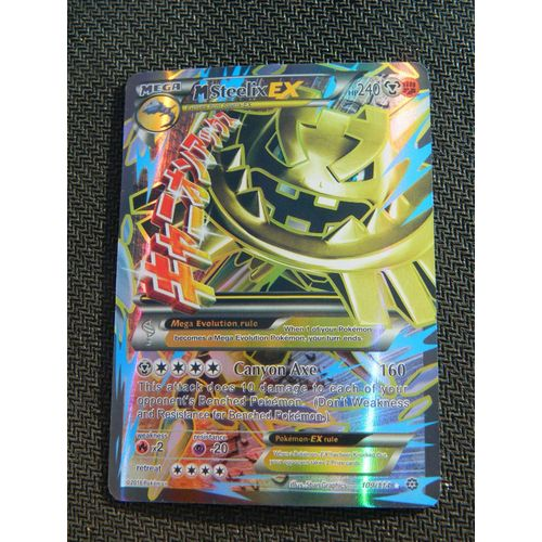 carte pokemon ex a vendre a 1€ Carte Pokemon Mega Steelix Ex Full Art | Rakuten