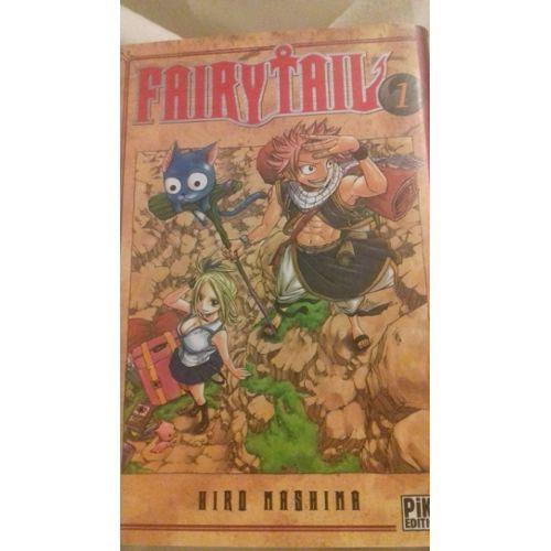 Fairytail Manga Numero 1 De Hird Mashima Format Livre Objet