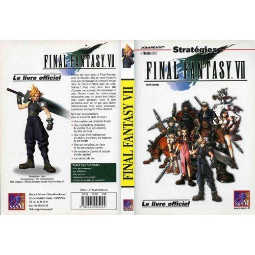 Final Fantasy Vii Livre Pas Cher Ou D Occasion Sur Rakuten