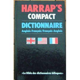 Couverture de Harrap's compact dictionnaire anglais-français
