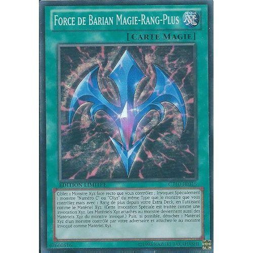 Yu-Gi-Oh Force de Barian Restreinte Magie-Rang-Moins YS13-FRV02 Ultra Française