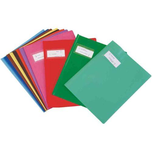 ELBA Lot de 25 Prot/ège-cahiers PVC 12//100/ème 17x22 Transparent incolore