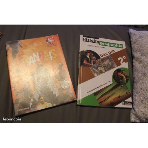 Lot 2 Livre Histoire Geographie Francais Bac Pro 2nde De