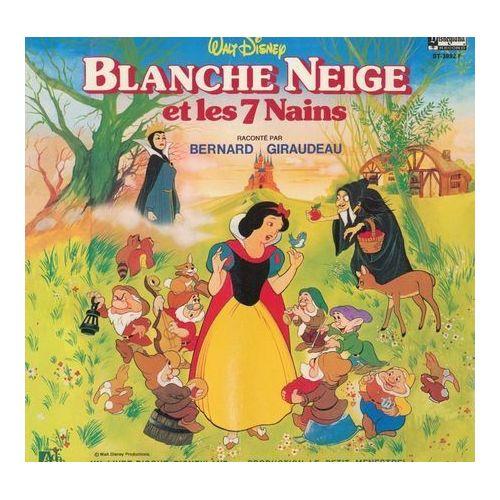 Blanche Neige Et Les 7 Nains Raconte Par Bernard Giraudeau Livre Disque Musique Et Chansons Originales Du Film