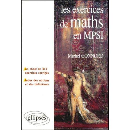 Les exercices de maths en MP-MP* - Michel Gonnord