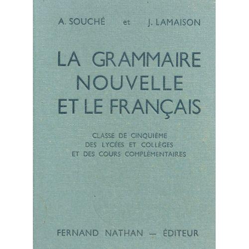 Grammaire Francais 5eme Souche Pas Cher Ou D Occasion Sur