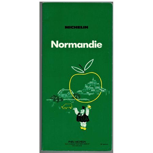 Guide Vert Michelin Normandie Pas Cher Ou Doccasion Sur Rakuten