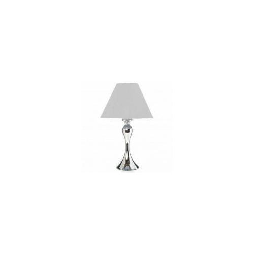 Lampe Pied Metal Chrome Cheval