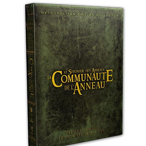 couleur attrayante promotion nouvelles photos Le Seigneur des Anneaux : La Communauté de l'Anneau - Version Longue
