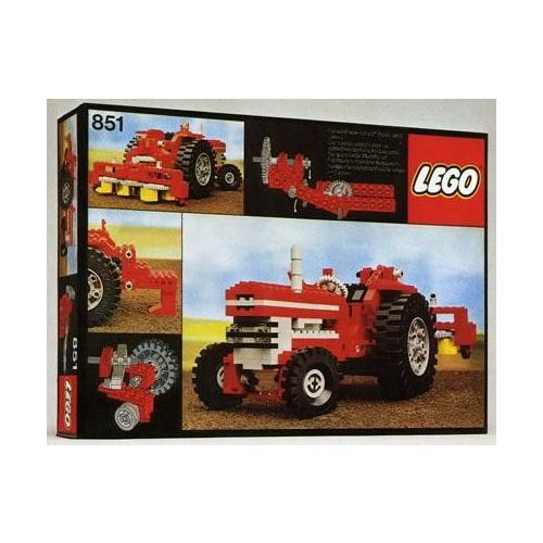 Lego technic 851 le tracteur - lego  Rakuten