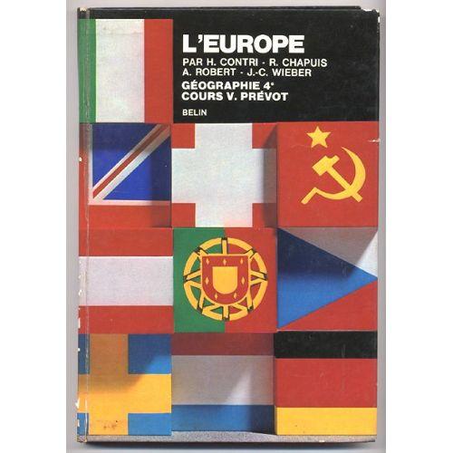 L Europe Et L Asie Sovietique Geographie Classe De 4e Cours V Prevot