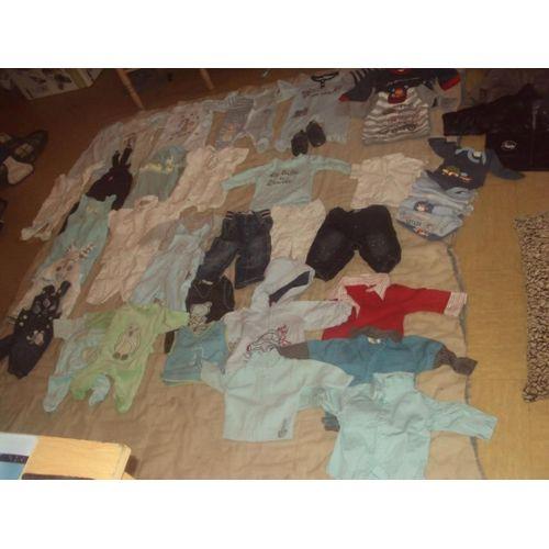 nouvelle arrivee d6a9c 59c06 lot vetements bebe 0 3 mois pas cher ou d'occasion sur Rakuten