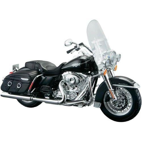 échelle 1:12 par Ma 2004 en Bleu Métallique Harley Davidson Dyna Super Glide Sport