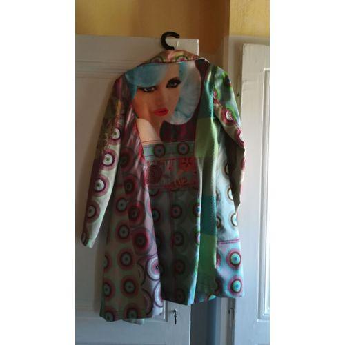 Manteau desigual femme occasion
