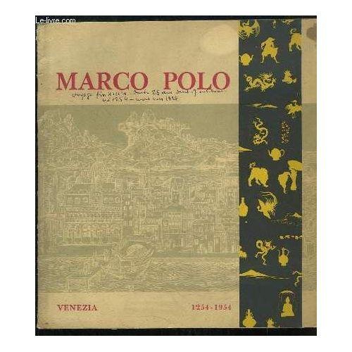 Marco Polo, Célébration Du Vii Centenaire