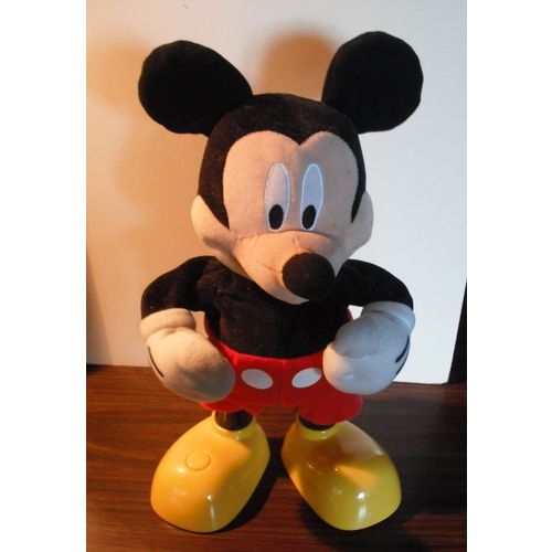 Mickey Chante Et Danse En Francais 32 Cm Rakuten
