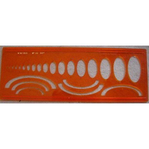 Minerva Ellipses 35/° Trace-Ellipses n/°44//35/° Orange