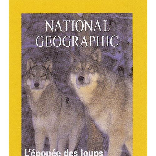 National Geographic Kids Animaux Sauvages-Loup