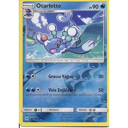 Pokémon Soleil et Lune OTAQUIN 39//149 Set de Base