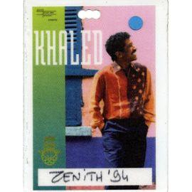 Pass Cheb Khaled - Didi Tour - Zenith 1994 - Neuf et d'occasion