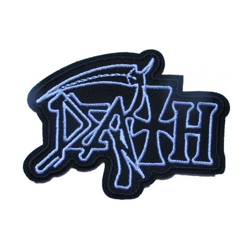Patch Groupe Hard Rock Slayer 8x5cm /écusson rectangulaire thermocollant pour Veste Blouson hotrodspirit