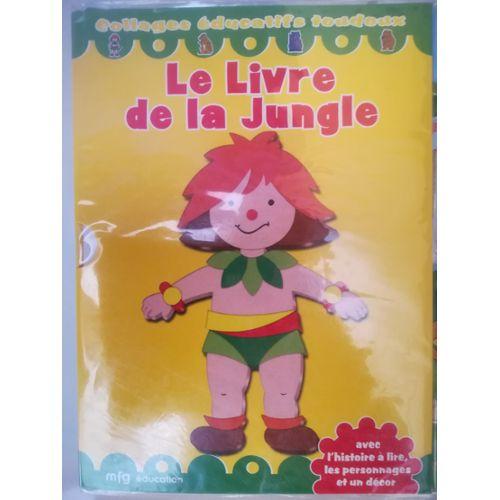Collage Toudoux Le Livre De La Jungle Histoire Personnage A Creer Et Decor 4 7ans